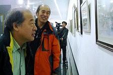 天津著名水彩画家宋家褆写生稿欣赏