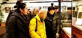 """著名画家李小可先生春节期间专程来津参观""""吉光片羽""""请柬小展"""