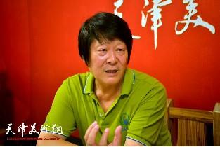 著名画家徐守渭做客天津美术网访谈实录