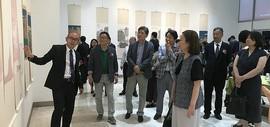 阚传好中国画展在韩国展出 助推中韩文化交流