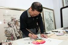 天津著名画家尚金声迎春新作欣赏