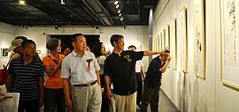 黑宣金彩 盛世丹青—李尔山家庭艺术特展在大同市和阳美术馆开幕