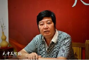 视频:著名画家王惠民做客天津美术网