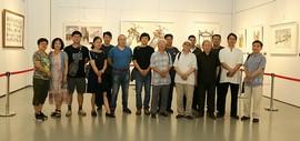 北方的精神-京津水彩名家作品邀请展研讨会在滨海美术馆举行