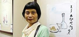 """天津青年女画家杨晓君首个个展超凡不脱""""俗"""""""