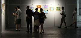 高清图:夏健强和他的朋友们画展在泰达当代艺术博物馆举行