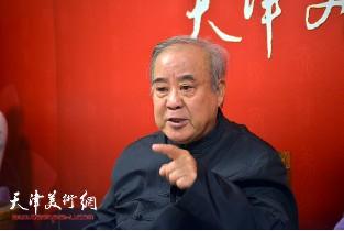 视频:著名诗词家王焕墉做客天津美术网