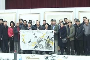 视频:天津美协主席团一行深入宝坻区结对子种文化