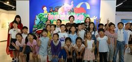 """让""""六一""""充满艺术感 """"我和我的祖国""""儿童绘画展在河西区美术馆举行"""