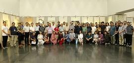 刘奎龄绘画艺术研究院第三届作品展在天津图书馆开幕