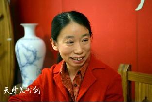 著名艺术家庄雪阳做客天津美术网访谈实录