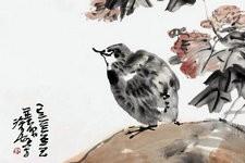 尹沧海教授作品鸡欣赏 深得传统之三昧