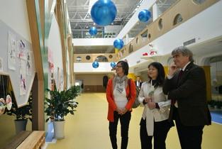 视频:马格德堡市副市长尼采德到访天美国际幼儿园