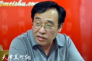 视频:著名画家陈钢先生做客天津美术网访谈