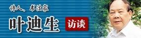 书法家叶迪生做客天津美术网访谈