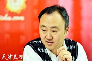 视频:著名画家柴博森先生做客天津美术网访谈