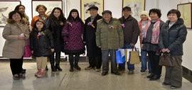 高清图:华枝春满—天津美术学院女同学会2014年展