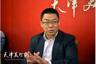 视频:留法艺术史硕士邓捷做客天津美术网
