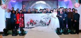 天津市书画名家祝贺孙富泉迎娶儿媳