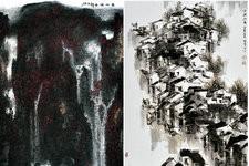 天津名家中国画邀请展作品欣赏-山水篇