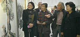 """高清图:""""津门风韵""""天津名家书画作品巡回展在津开幕"""