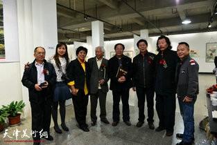 韩水瑶光—潮籍书画家作品展在津盛大开幕