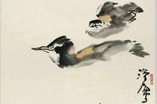 尹沧海教授荷花水禽作品欣赏:笔意简率自由 一派天趣自成