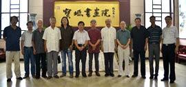 高清图:宝坻书画院成立 聘请孟庆占为首任院长