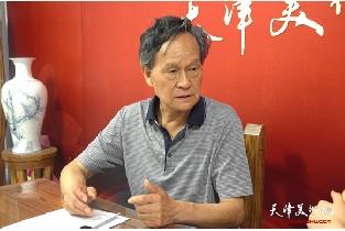 视频:著名画家李存伟做客天津美术网