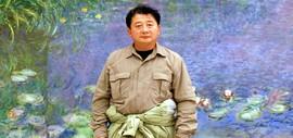 高清图:油画家沙志国 感悟自我内心的光色奏鸣曲