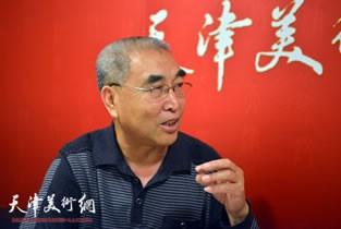 著名画家王绍棠做客天津美术网访谈实录