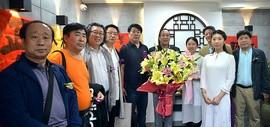 """""""观修文化—鲁群先生个人精品书法展""""在重庆道观修堂举行"""
