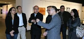"""国家艺术基金""""白族传统工艺美术作品巡展""""在天津美术馆开展"""