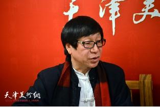 视频:著名画家张葆东做客天津美术网