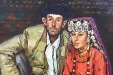王胜利2017新疆塔什库尔干人物写生作品