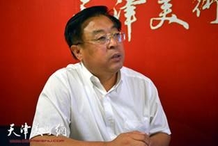 视频:著名画家赵俊山做客天津美术网