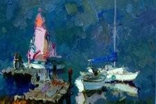 视觉的守望 著名画家张京生油画作品欣赏