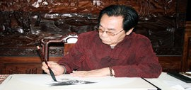 高清图:尉迟纪平入选《盛世翰墨名家经典》成为国礼艺术家