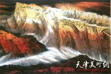 组图:割不断的巴山蜀水情 向中林山水画欣赏