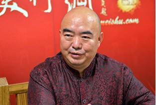 著名书画家尹沧海做客天津美术网访谈实录