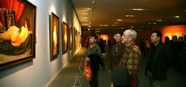 高清图:2015中国写实画派十一年展在天津美术馆开幕