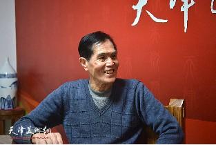 著名画家谢玉玺做客天津美术网访谈实录