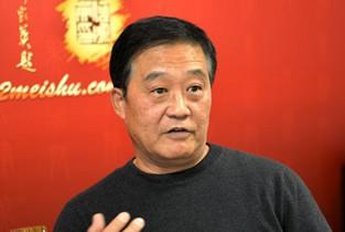 著名书法家张鹤年做客天津美术网访谈实录