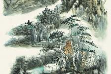 李毅峰画作《万山春回得气先》赏析