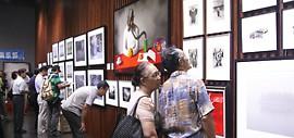 """高清图:""""本·源 天津当代摄影、绘画艺术展""""在智慧山艺术中心开展"""