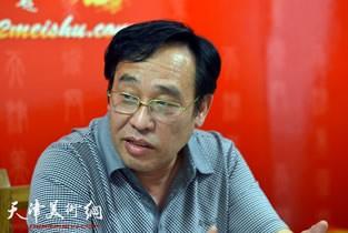 著名画家陈钢先生做客天津美术网访谈实录