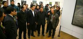 """高清图:""""中国精神""""第四届中国油画展在天津美术馆开幕"""