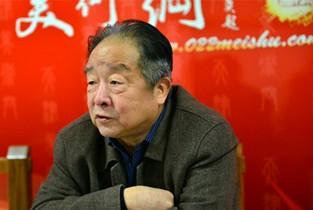 视频:著名书法家况瑞峰做客天津美术网访谈