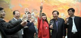 高清图:天津最大艺术创意园区意庄艺术区开街启用
