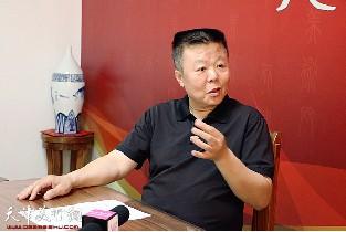 著名画家潘晓鸥做客天津美术网访谈实录